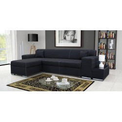 FORTE DARK chaiselongsofa, sovesofa